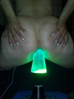lampe dans le cul