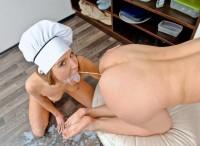 lavement dans la bouche