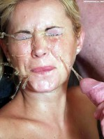unhappy young bitch gets piss on her face